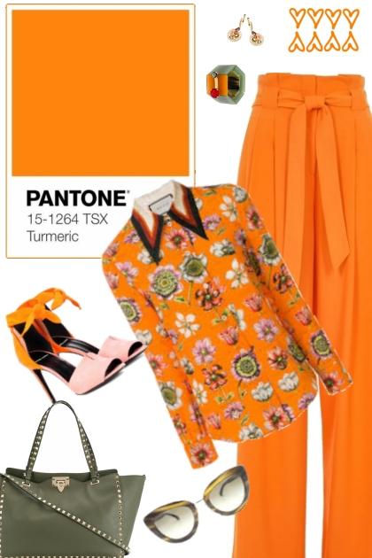 Turmeric (Pantone Spring Summer 2019)