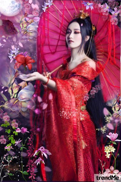 Floral Rose- Fashion set