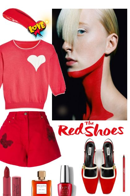 Red shoes !