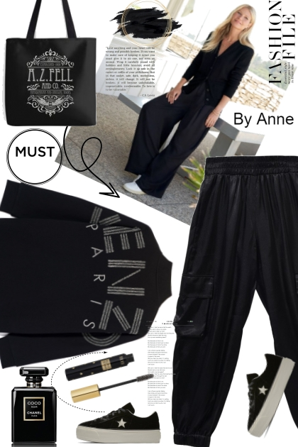 Black is cool