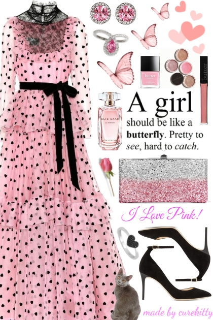A Girl Should Be Like a Butterfly!