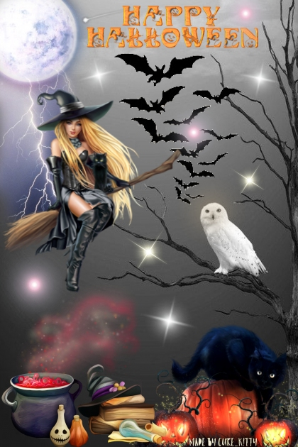 Happy Halloween: Witches Brew!- Fashion set