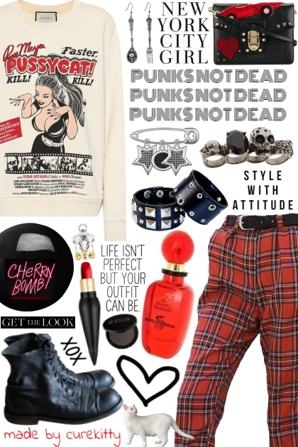 Life Isn't Perfect But Your Punk Outfit Can Be!