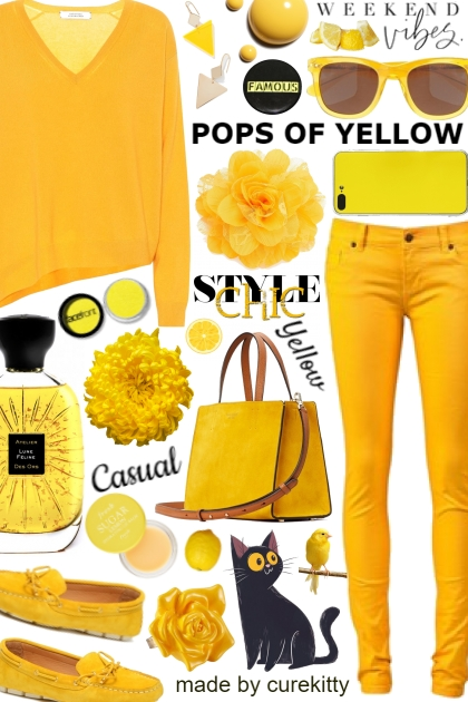 Volume II: Pops of Yellow - Weekend Vibes! - Fashion set