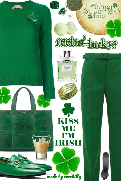 Kiss Me I'm Irish For St. Patrick's Day!