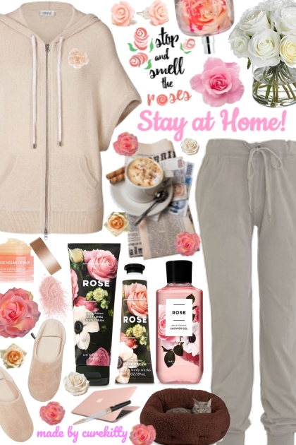 Stop and Smell the Roses When Staying at Home!