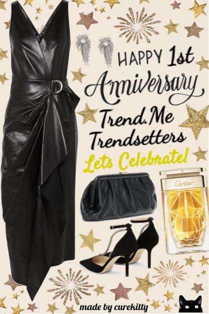 Happy 1st Anniversary Trend.Me Trendsetters!