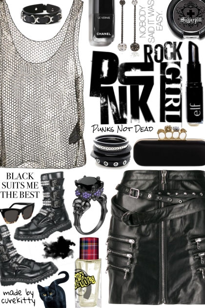 Nobody Said It Was Easy Being a Punk Rock Girl!