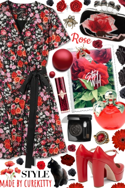Stay Wild As A Red Rose!
