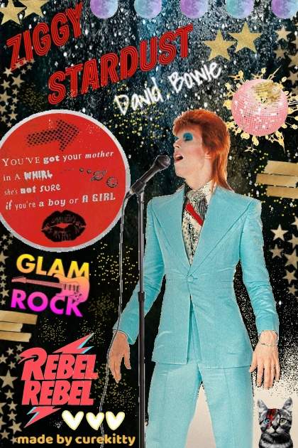 Ziggy Stardust:  Glam Rock Rebel Rebel