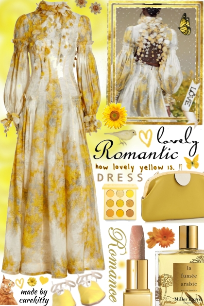 Romantic Dresses: How Lovely Yellow Is!
