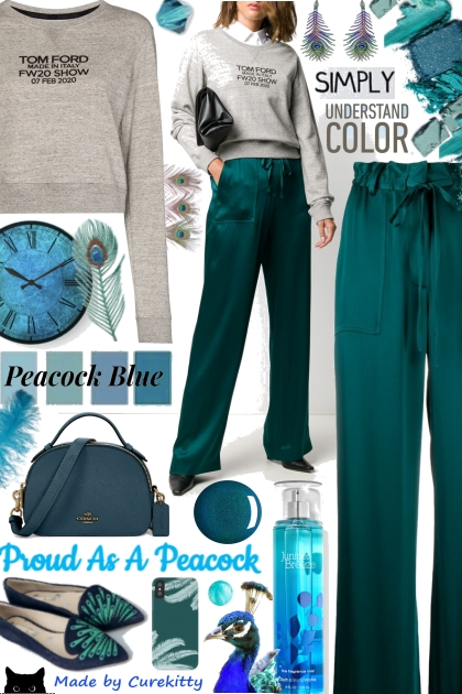 Simply Understand Color: Peacock Blue!