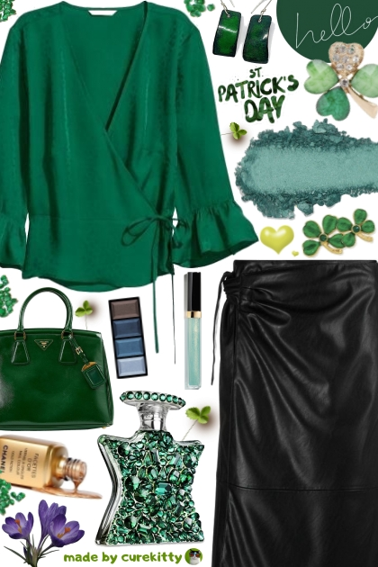 Wear Emerald Green for St. Patrick's Day!