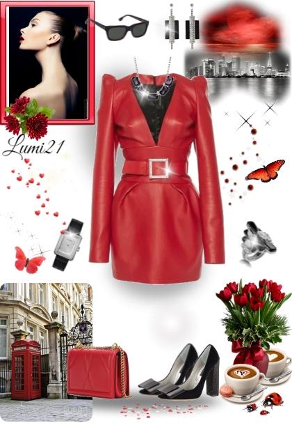 RED DRESS FOR MY BIRTHDAY!