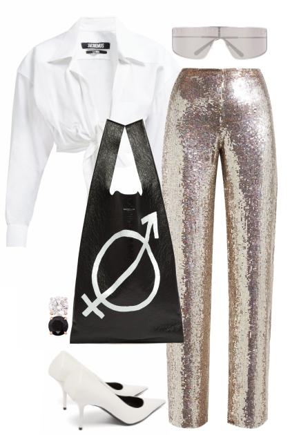Ashish sequin trousers