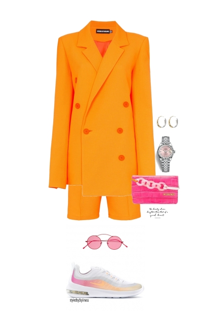 Orange and Pink- Fashion set