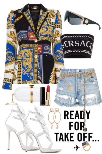 Versace jacket- Kreacja