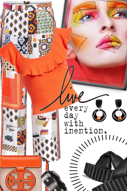 live everyday with intention.