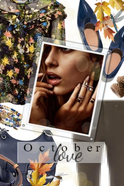 October love- Combinaciónde moda
