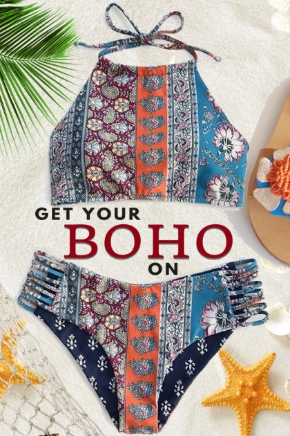 Get Your BOHO On...