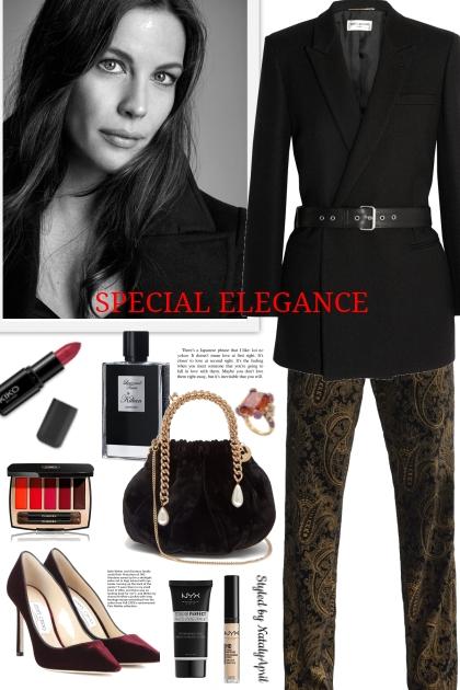 Elegance in blood