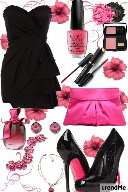 black can be girly- Combinaciónde moda