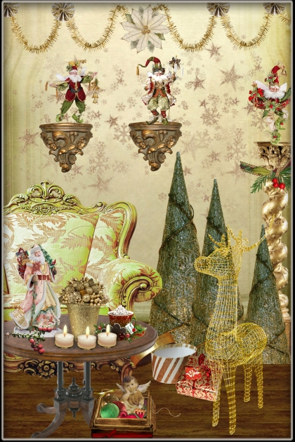 Decorating for Christmas- Combinazione di moda