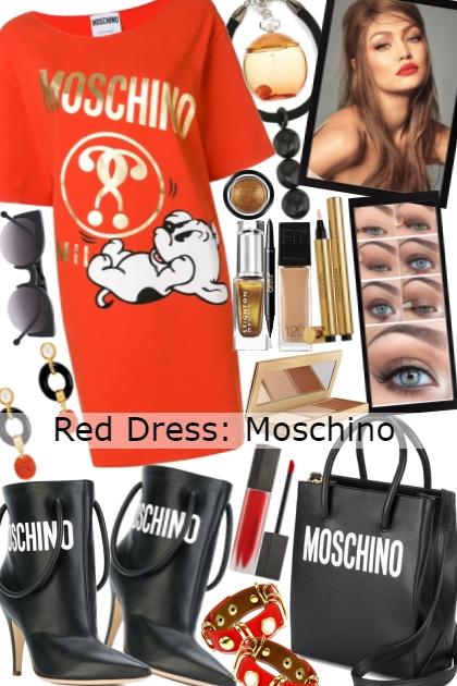 Red Dress: Moschino