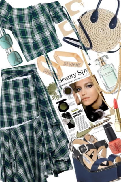 Checks: Green & Navy