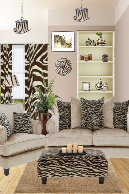 Zebra Print:Home Edition