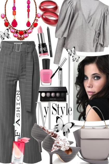 Pinstripe- Fashion set