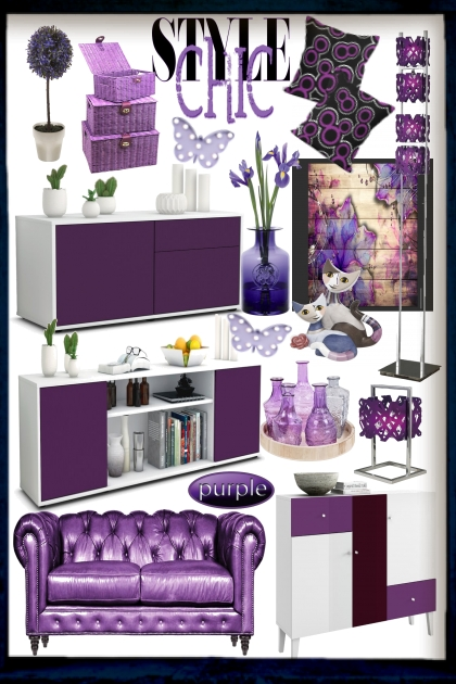 Modern Living: Purple