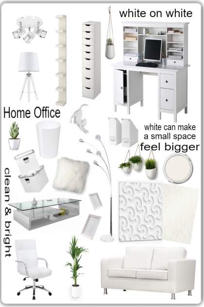 Modern Living: Home Office (white)