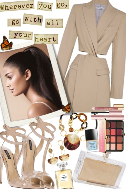 Dare to Bare Blazer Dress