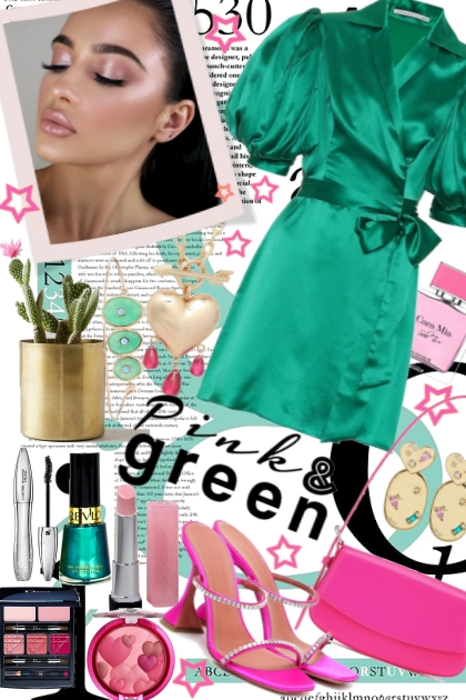 Pink & Green 2