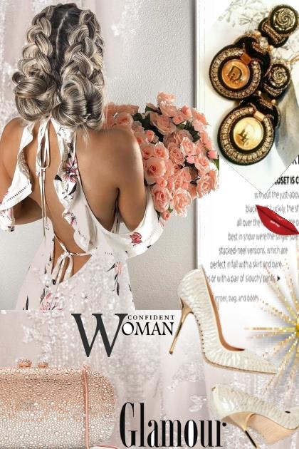 Soutache Earrings with authentic Dior button. Vint