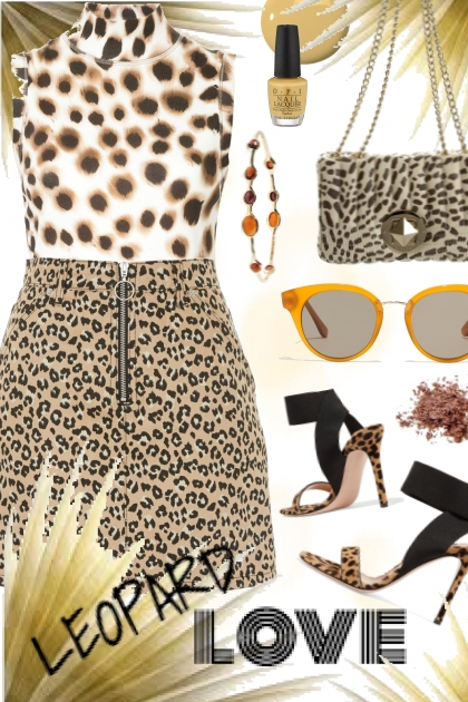 leopard love- Fashion set