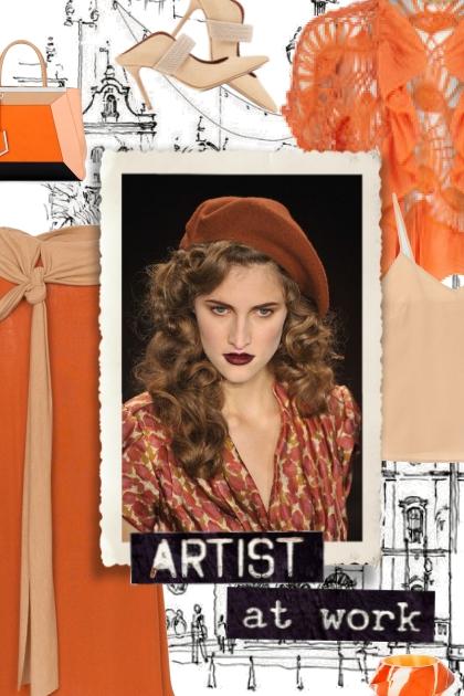 working artist- Fashion set