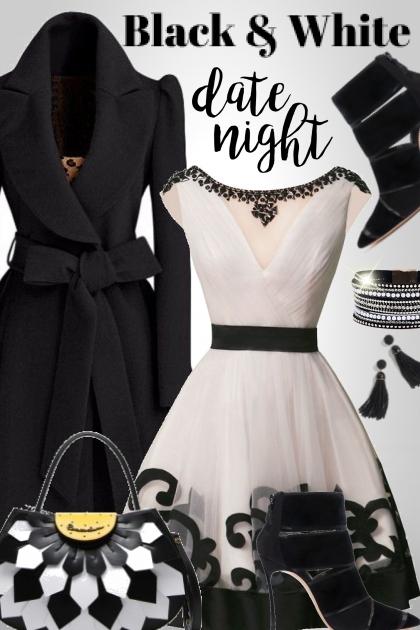 Black & White Date Night