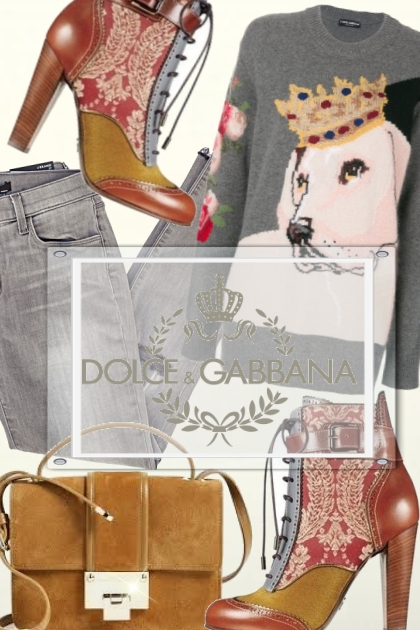 Casual Autumn - Dolce & Gabbana