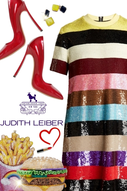 Judith Leiber burger & fries clutches