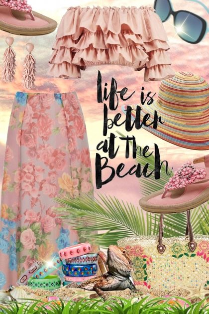 Life is better at the beach . . .