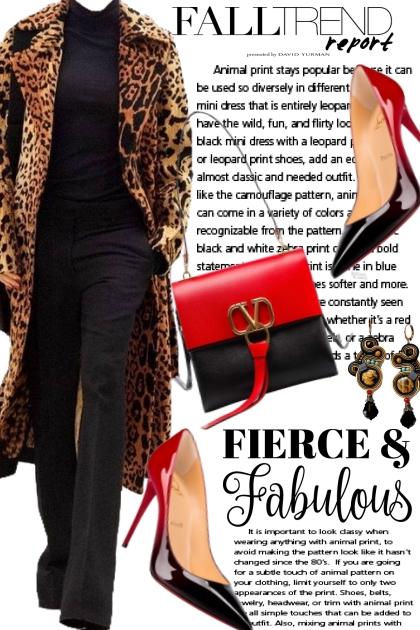 Fall Trend: Fierce & Fabulous