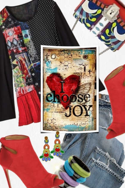 Choose Joy- Fashion set