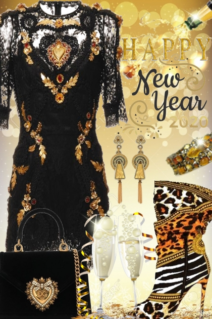 Happy New Year 2020- Fashion set