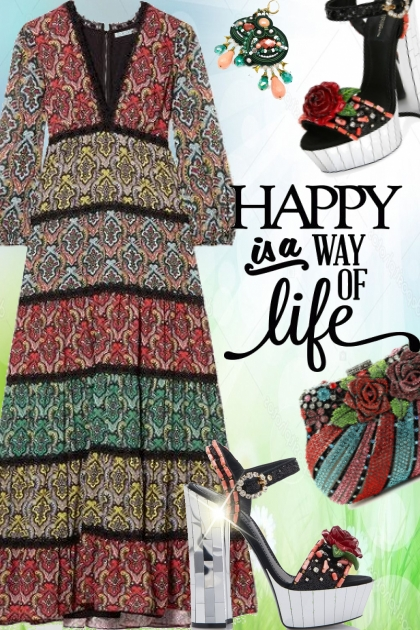Happy is a way of life