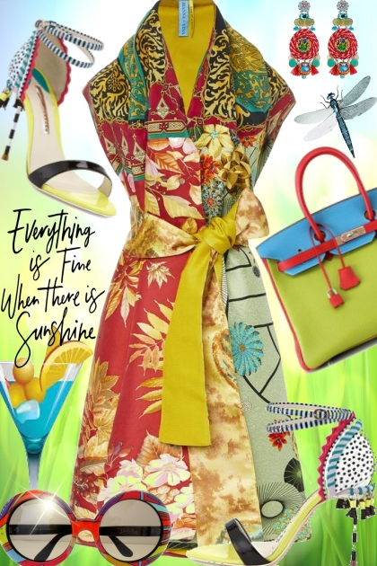 Everything is Fine when there is Sunshine- Fashion set