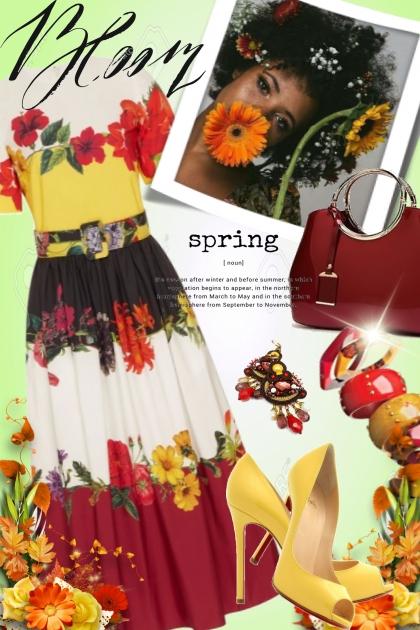 Oscar de la Renta Spring Dress