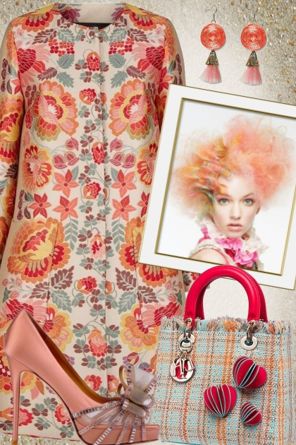 Etro Coat Dress- Modna kombinacija