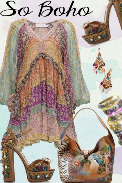 So Boho- Fashion set